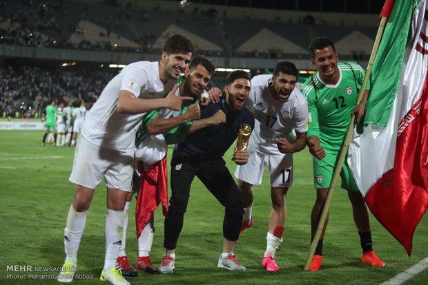 İran'ın Dünya Kupası coşkusundan kareler