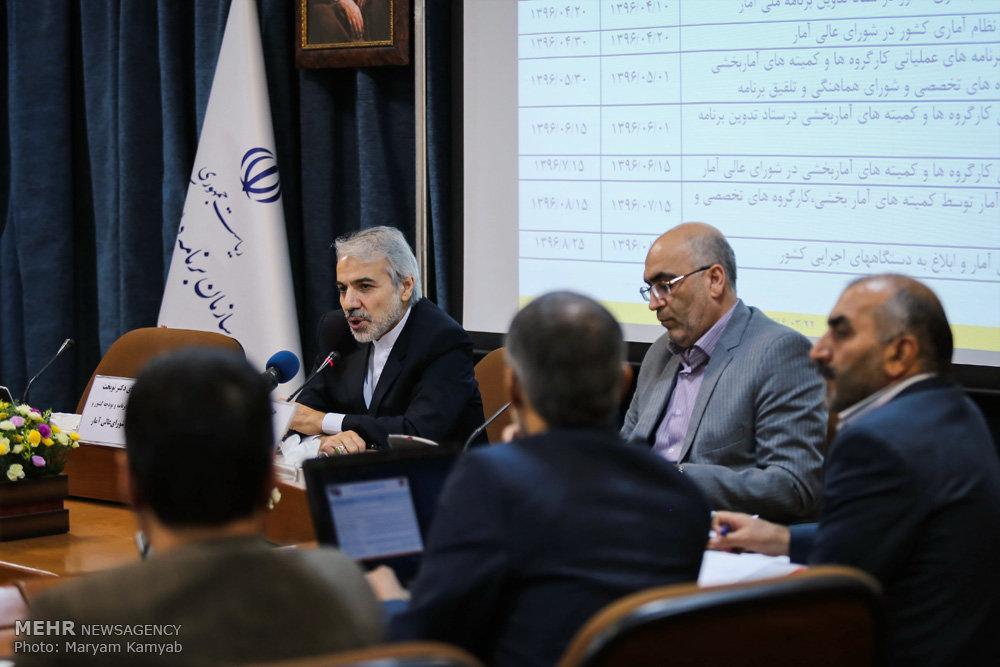 جلسه شورای عالی آمار