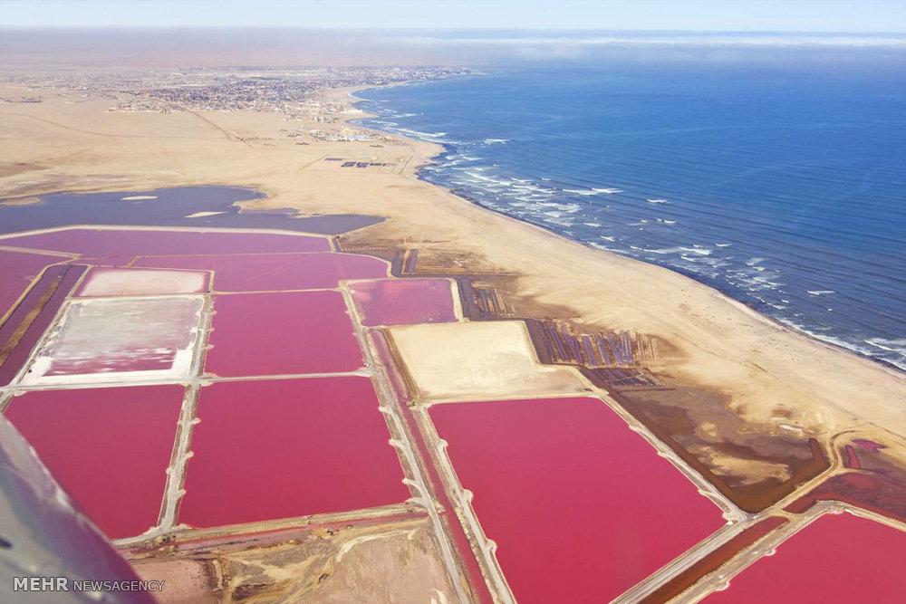 دشت های نمک در نقاط مختلف جهان
