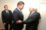 دیدار ظریف با وزیر خارجه اسلواکی