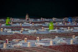 ضیافت افطار ایتام البرزی در مصلی کرج برگزار شد