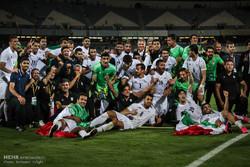 دیدار تیم های ایران و ازبکستان