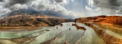 Badab-e Surt astonishes visitors with dreamy views