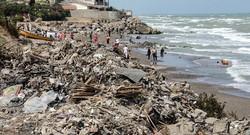 آلودگی شناگاه های شمال سواحل دریای خزر