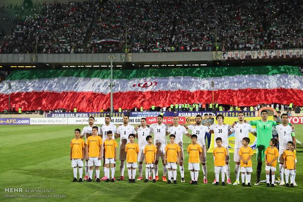 تیم ملی فوتبال ایران همچنان در رده ۳۶ جهان و  اول آسیا