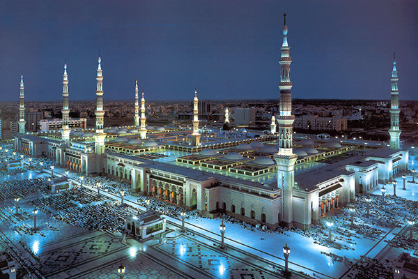 Foreign ministry delegation arrives in Medina