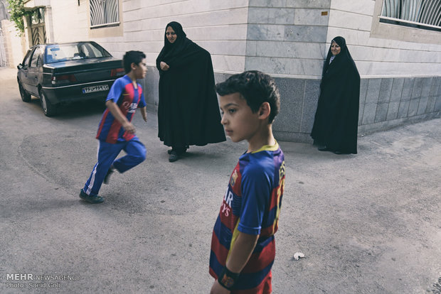 Children dream of being 'Messi'