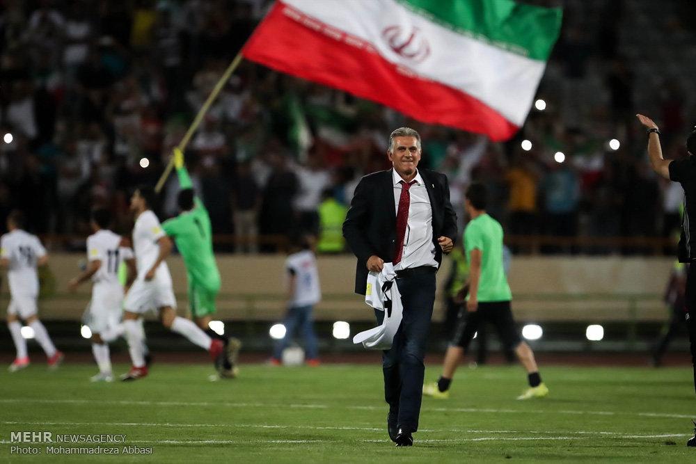 صعود تیم ملی فوتبال ایران به جام جهانی ۲۰۱۸ روسیه