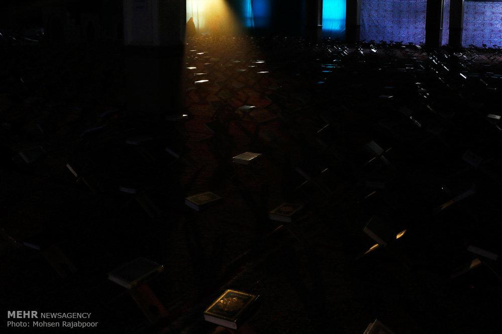 محفل انس با قرآن در حسینیه ثارالله کرمان
