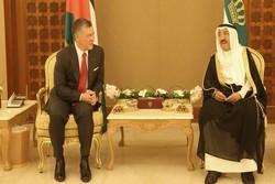 شاه اردن و امیر کویت
