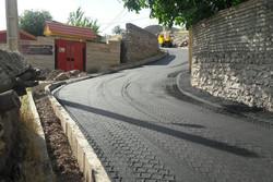راه های روستایی منطقه الموت غربی قزوین آسفالت می شود