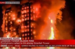 آتشسوزی برج لندن