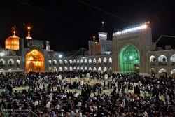 مراسم احیای شب نوزدهم ماه مبارک رمضان در حرم رضوی