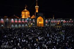 حرم رضوی میں  19 ویں رمضان المبارک کی مناسبت سے شب بیداری