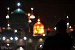 مراسم إحياء ليلة القدر الاولى في مدينة مشهد المقدسة