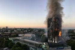 آتش سوزی برج «گرانفل» لندن مهار شد/۱۲ نفر کشته شدند