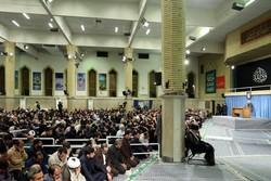 اقامة مراسم عزاء بمناسبة استشهاد الإمام علي (ع) بحضور قائد الثورة