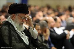 İnkılap Rehberi huzurunda Hz. Ali (as) için matem töreni