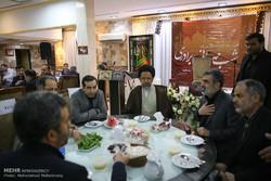 افطار نادي الصحفيين مع وزير الأمن الايراني /صور