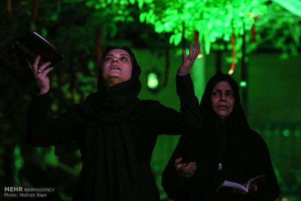 Tahran'da ehya gecesi merasimleri