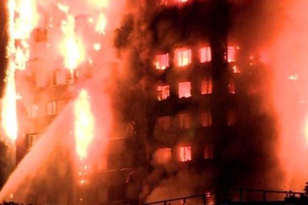آتش سوزی لندن