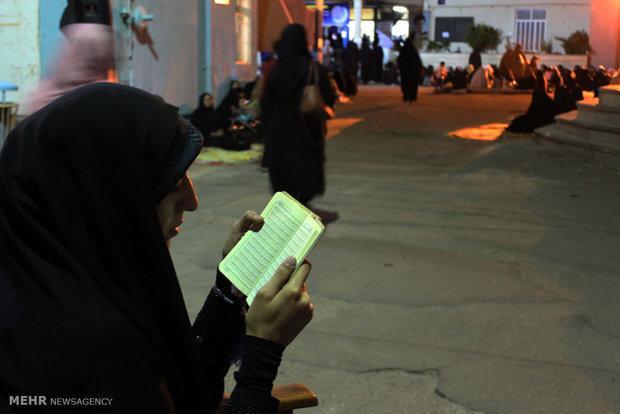 مراسم احياء ليلة القدر في مدينة ارومية
