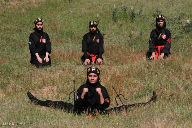 İran'ın Ninja kadınları
