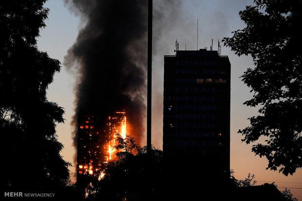 عاجل: ارتفاع حصيلة ضحايا حريق لندن إلى 50 شخصا