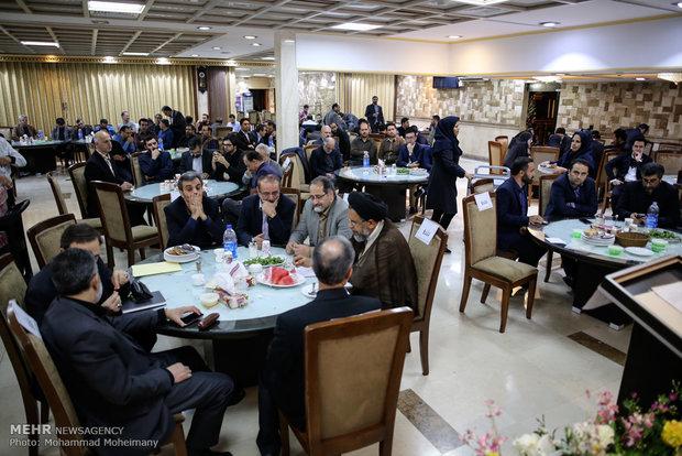 إفطار نادي الصحفيين مع وزير الأمن الايراني