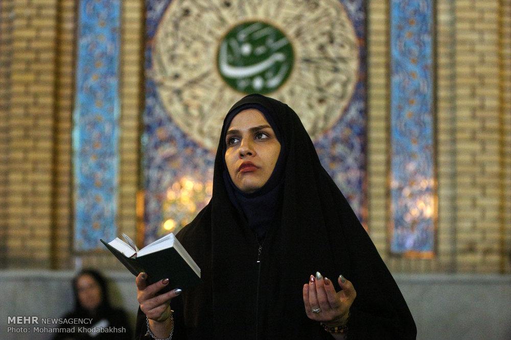 مراسم احیای شب نوزدهم ماه رمضان در امام زاده صالح (ع)