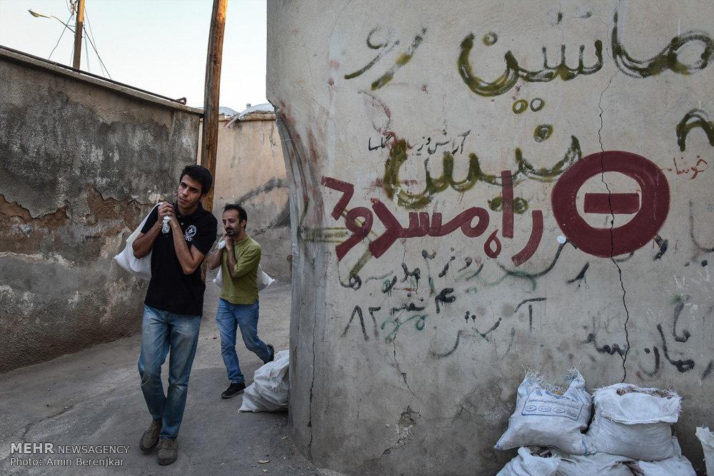 آئین کوچه گردان عاشق در بافت قدیم شیراز