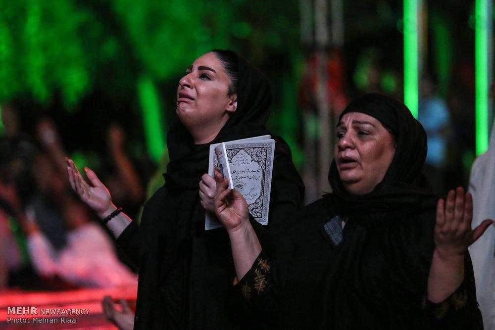 مراسم احیای شب نوزدهم ماه رمضان در خانه هنرمندان