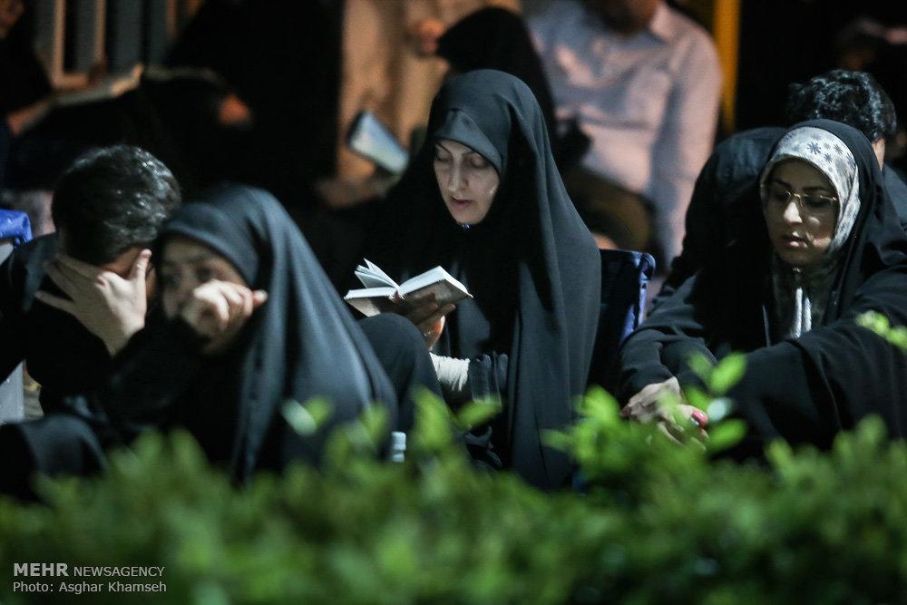 مراسم احیای شب نوزدهم ماه رمضان در مسجد ارک