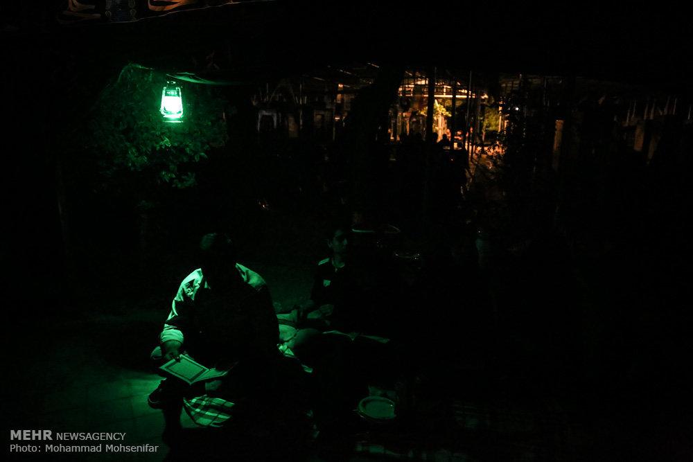 مراسم احیای شب نوزدهم ماه رمضان در بهشت زهرا