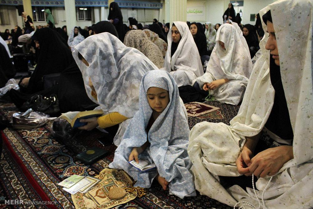 مراسم احیای شب نوزدهم ماه رمضان در ارومیه
