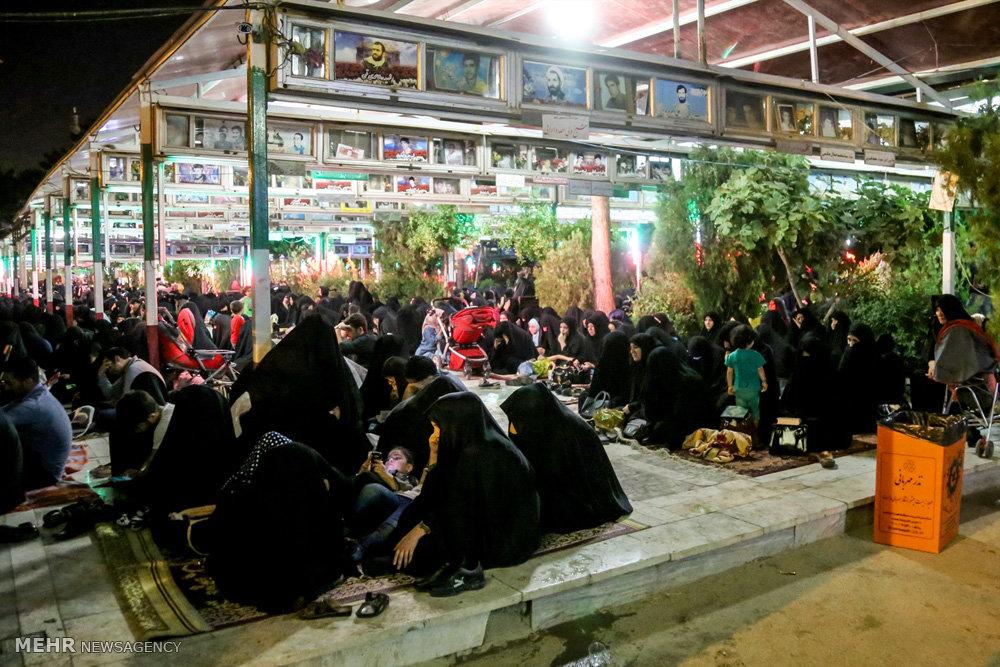 مراسم شب قدر در هیات رزمندگان اسلام قم