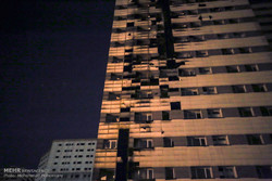 Fire put out at high-rise apartment in western Tehran