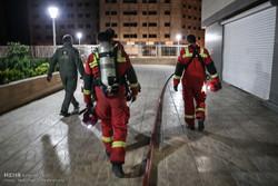 آتش سوزی برج پامچال دریاچهچیتگر