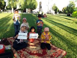باشگاه کتابخوانی کودکان صفاشهر