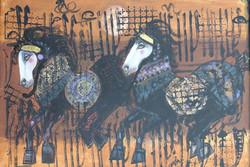 نمایش آثار ناصر اویسی در موزه هنرهای معاصر تهران
