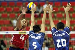 شکست تیم ملی والیبال ایران برابر آمریکا/ اتفاق عجیبی که در ست سوم افتاد
