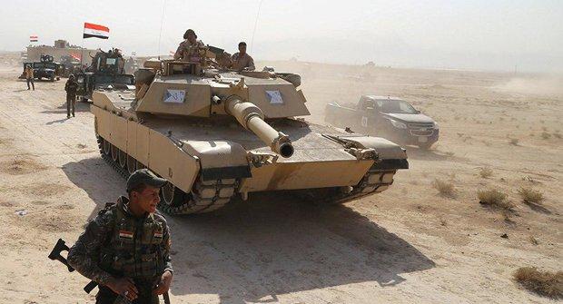 """القوات العراقية تحرر مناطق حدودية مع السعودية من تنظيم """"داعش"""""""