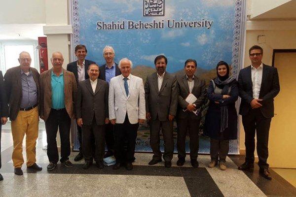 هیات آلمانی در دانشگاه شهید بهشتی