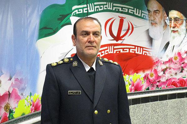 رحیم آقامحمدی رئیس پلیس راهور اردبیل