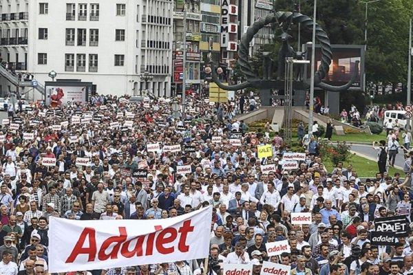 Kılıçdaroğlu'nun Adalet Yürüyüşü'nde 7. gün