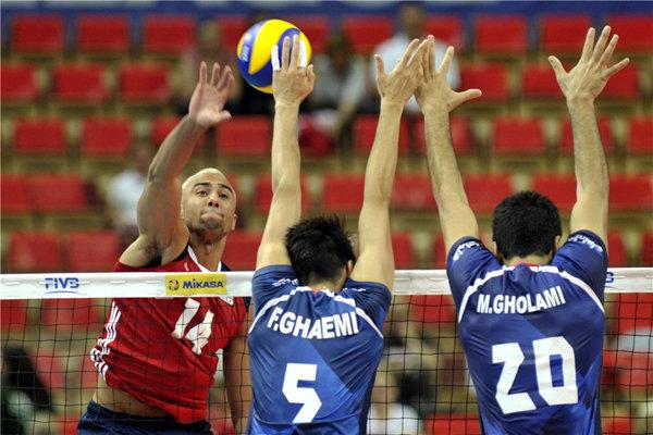 شکست تیم ملی والیبال ایران برابر آمریکا/ اتفاق عجیب در ست سوم