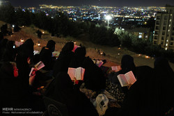 کہف الشہداء میں اکیس رمضان المبارک اور شب قدر کی مناسبت سے عزاداری اور مناجات
