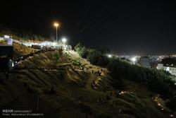 مراسم احیای شب بیست و یکم ماه رمضان در مزار شهدای گمنام کهف الشهدا