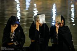 مراسم إحياء ثاني ليلة من ليالي القدر في طهران/صور