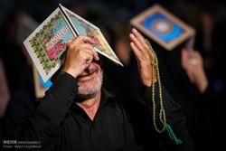 مصلی امام خمینی (رہ) میں حضرت علی کی شہادت اور شب قدر کی مناسبت سے عزاداری و مناجات